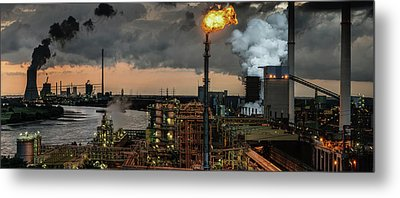 780a? A?? Industrial Pleasure Metal Print