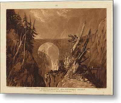 Joseph Mallord William Turner And Charles Turner British Metal Print by Quint Lox