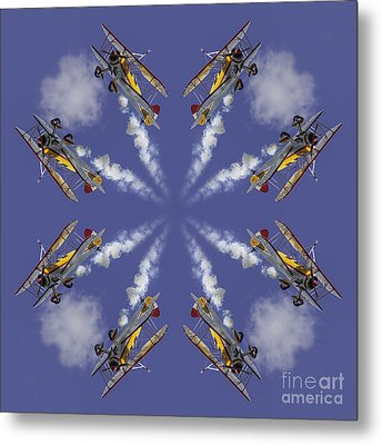 8 Planes Metal Print by Jerry Fornarotto