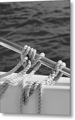The Ropes Metal Print by Laura Fasulo