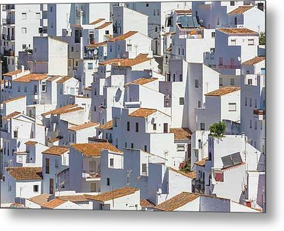 Casares, Andalusia, Spain Metal Print by Ken Welsh