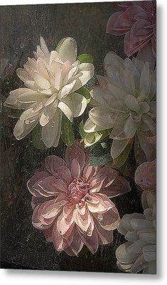 Tijuana Mexico Artificial Flower Arrangement Metal Print by John Hanou