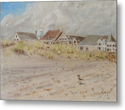 98th Street Beach Stone Harbor New Jersey Metal Print by Patty Kay Hall