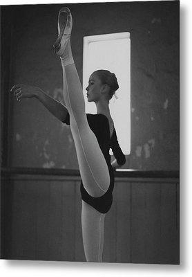 A Ballet Dancer Metal Print