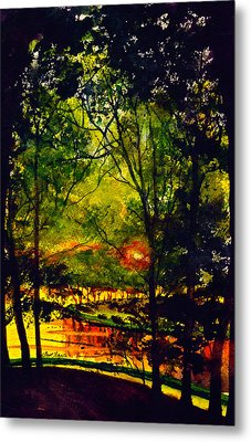 A Better Place To Be Metal Print