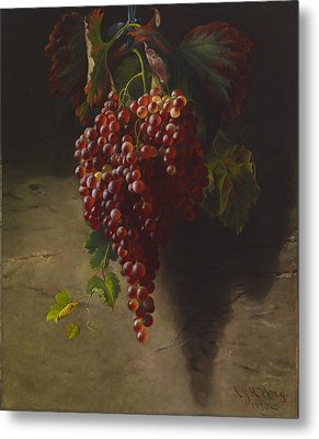 A Bunch Of Grapes Metal Print by Andrew John Henry Way