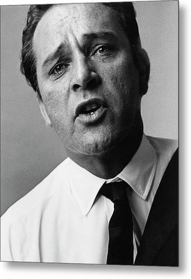 A Close-up Of Richard Burton Metal Print