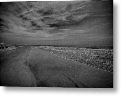 A Day At The Beach Metal Print by J Riley Johnson