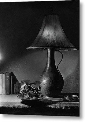 A Jug Lamp Metal Print