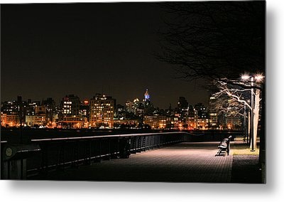 A Night In The Park Metal Print by JC Findley