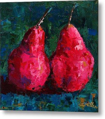 A Pair Of Pears Metal Print