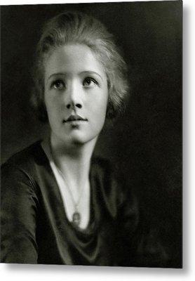 A Portrait Of Ann Harding Metal Print