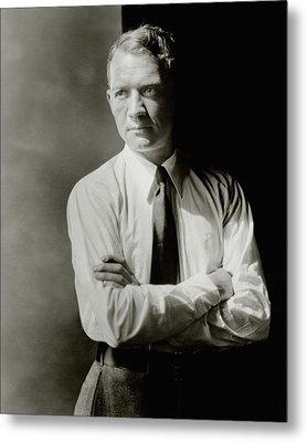 A Portrait Of John Held Jr Metal Print