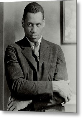 A Portrait Of Paul Robeson Metal Print by Ralph Steiner