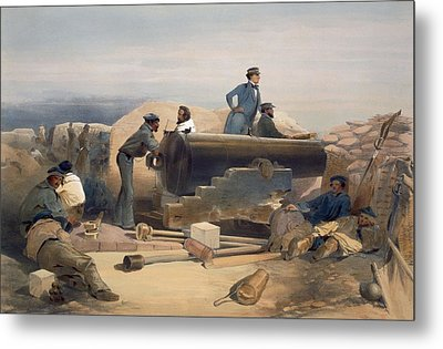 A Quiet Day In The Diamond Battery Metal Print
