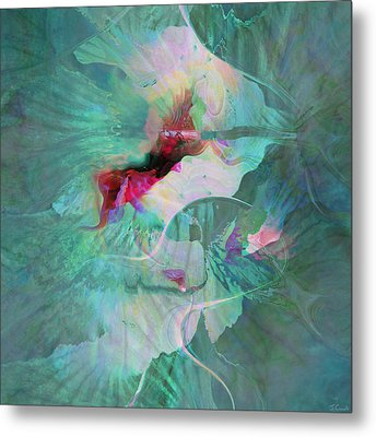 A Sacred Place - Abstract Art Metal Print by Jaison Cianelli
