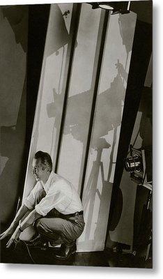 A Self-portrait Of Edward Steichen Metal Print by Edward Steichen