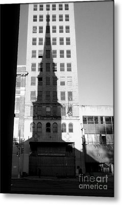 A Shadow Looms Over Us All Metal Print by James Aiken