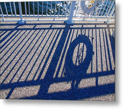 A Shadow Of Safety Metal Print