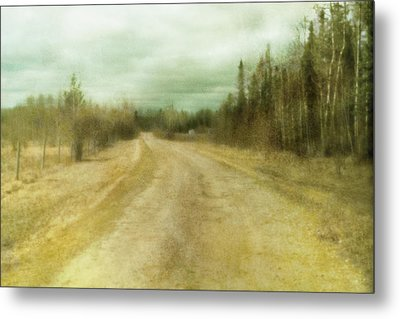 A Textured Pictorialist Photograph Of A Metal Print by Roberta Murray