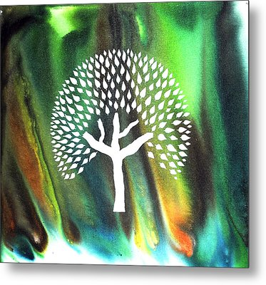 A Tree I Dreamt Of  Metal Print by Sumit Mehndiratta