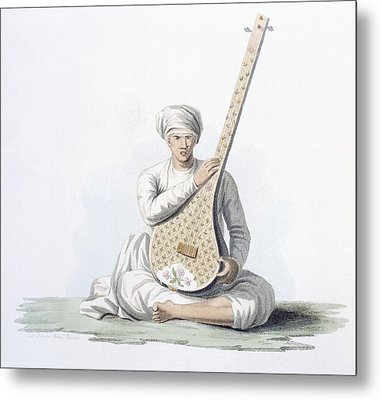 A Tumboora, Musical Instrument Played Metal Print