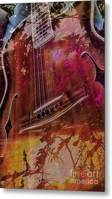 A Tune In The Woods By Steven Langston Metal Print by Steven Lebron Langston