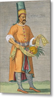 A Turkish Chef Metal Print