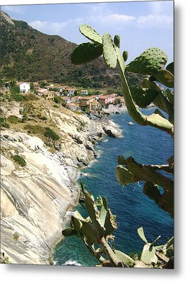 A Typical Bay Of Elba Island Metal Print by Giuseppe Epifani