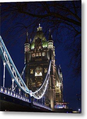 A Unique View Of Tower Bridge  Metal Print by Jennifer Lamanca Kaufman