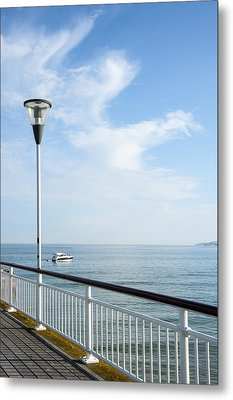 a View from Pier Metal Print by Svetlana Sewell