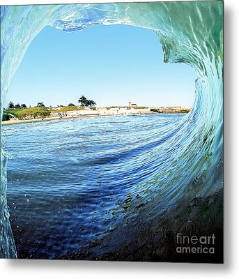 Metal Print featuring the photograph A View Of The Lighthouse by Paul Topp