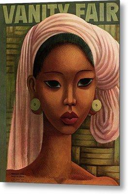 A Woman From Bali Metal Print