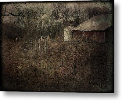 Abandoned Farm Metal Print by Cynthia Lassiter
