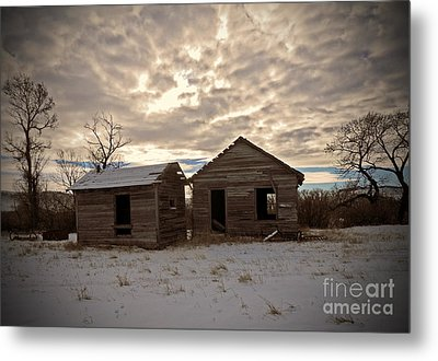 Abandoned History Metal Print by Desiree Paquette
