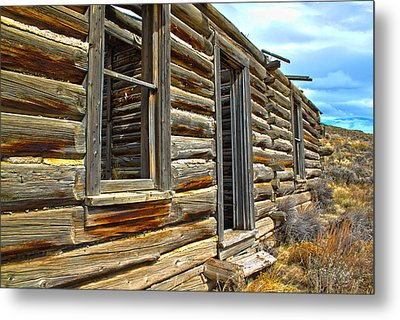 Abandoned Homestead Metal Print by Shane Bechler