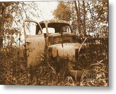 Abandoned Journey Metal Print by Michael Hoard