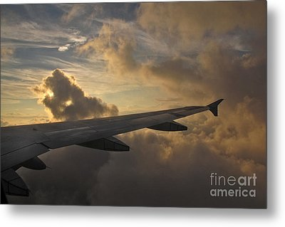Metal Print featuring the photograph Above The Weather by Inge Riis McDonald