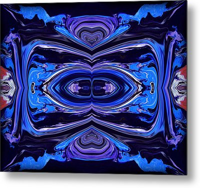 Abstract 175 Metal Print by J D Owen