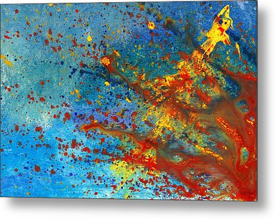 Abstract - Acrylic - Just Another Monday Metal Print by Mike Savad