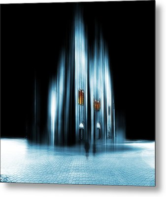 Abstract Cathedral Metal Print