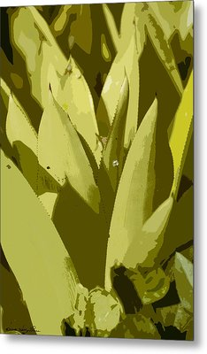 Abstract Century IIi Metal Print by Kathy Ponce