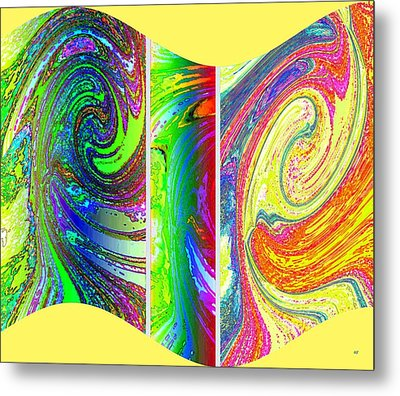Abstract Fusion 188 Metal Print by Will Borden