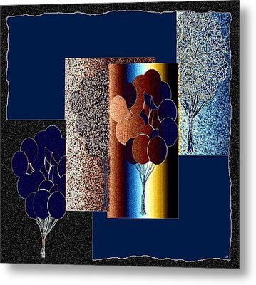 Abstract Fusion 191 Metal Print by Will Borden