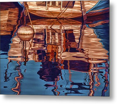 Abstract Reflections Metal Print by Muhie Kanawati