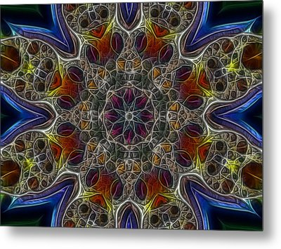 Acid Rock 1 Metal Print