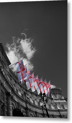 Admiralty Arch London Metal Print by Mark Rogan