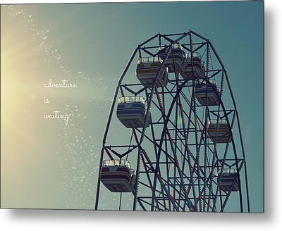 Adventure Is Waiting Metal Print by Robin Dickinson
