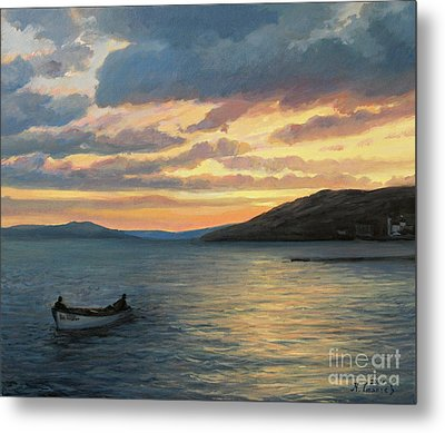 After Fishing Metal Print by Kiril Stanchev