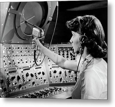 Air Traffic Control System Metal Print